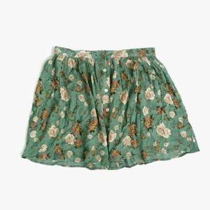 MINKPINK floral button down skirt
